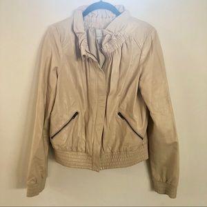 Hinge Leather Jacket